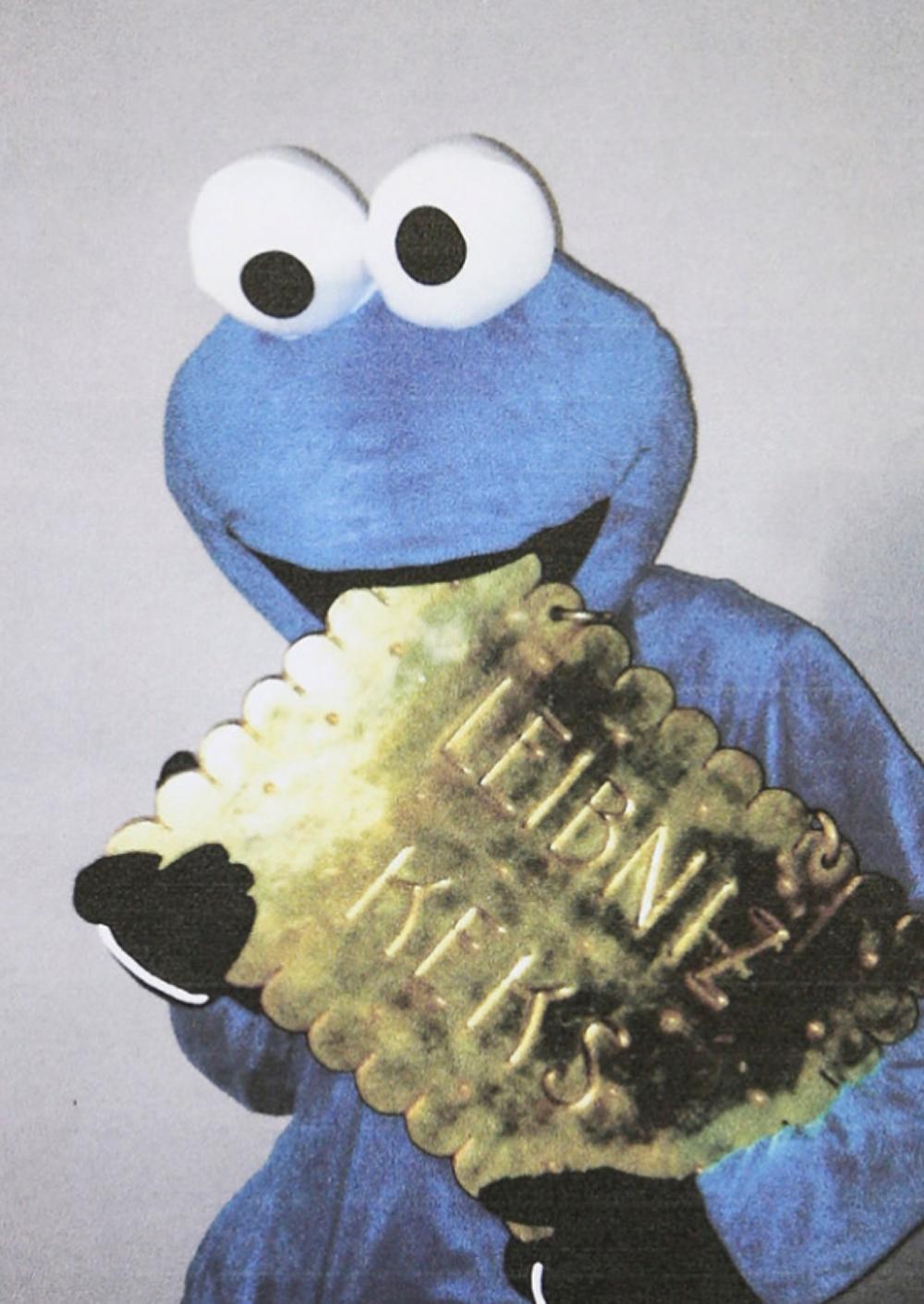 """""""Monstro das bolachas"""" rouba emblema de empresa em troca de biscoitos para crianças"""