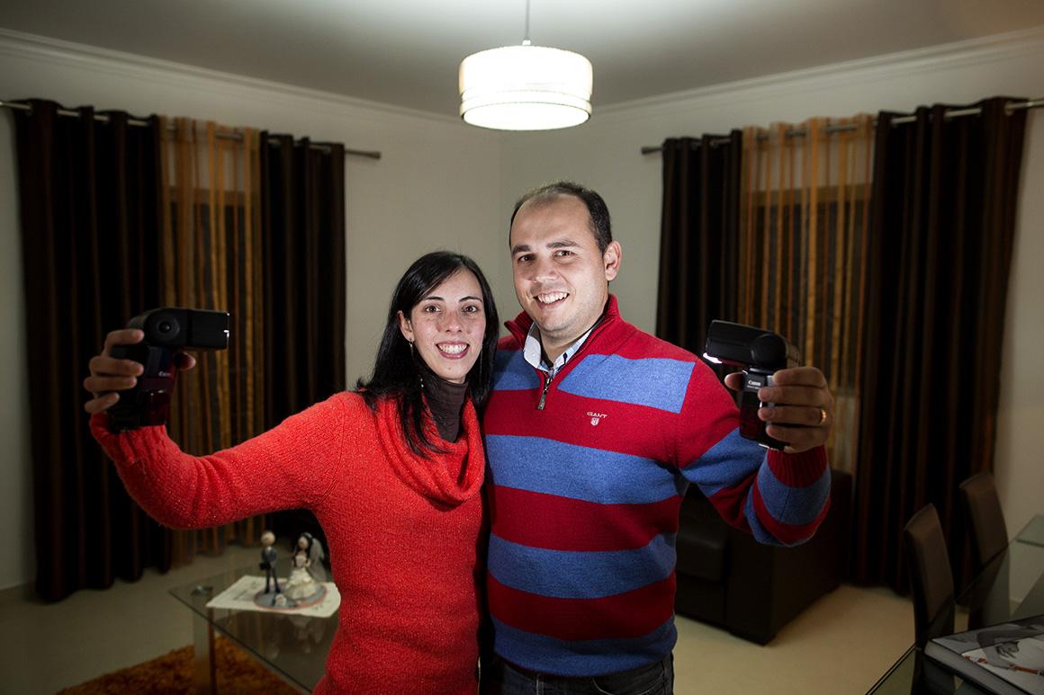Andreia Domingos e Luís Silva são casados desde 2011