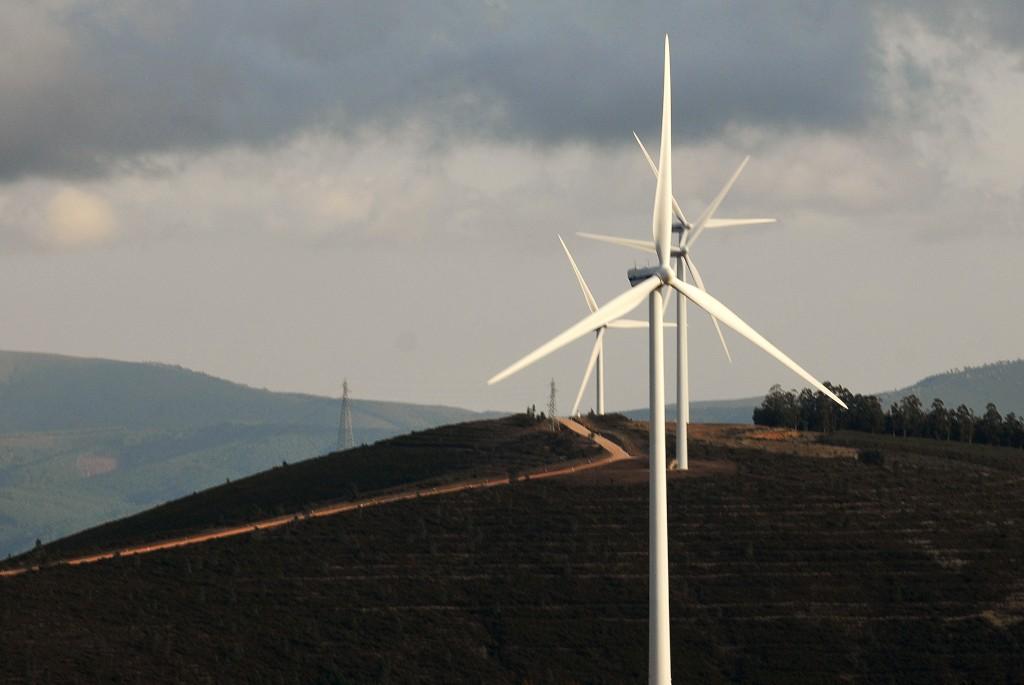 Em 2013, a produção de electricidade a partir do vento aumentou 20%