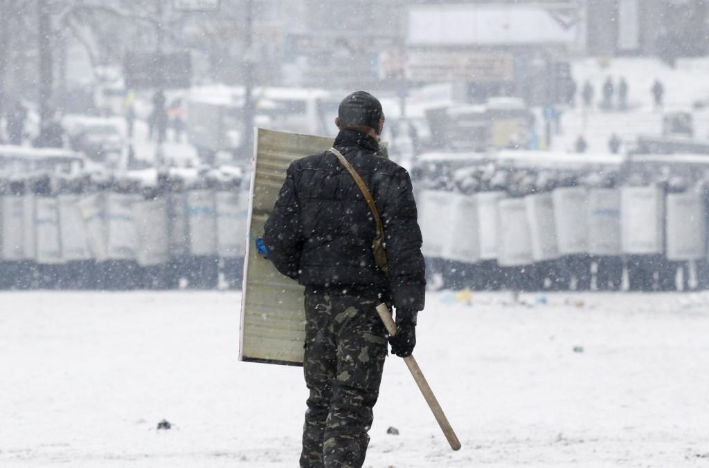 Espectaculares imágenes de los disturbios en Kiev 821722?tp=UH&db=IMAGENS